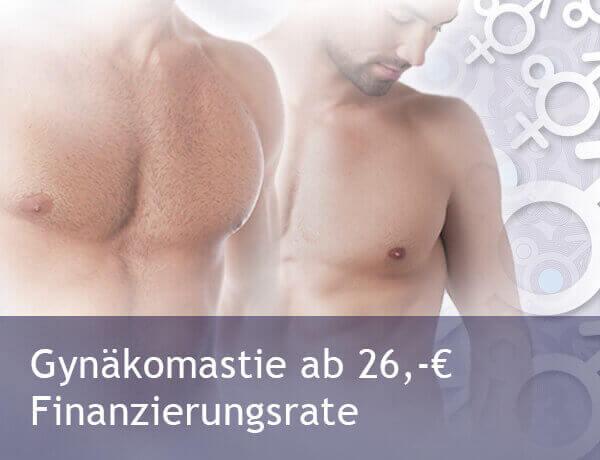 Gynäkomastie / Männerbrust günstig in der Tschechei