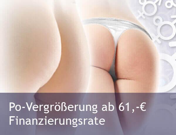 Po-Vergrößerung mit Eigenfett oder Impantaten in Tschechien