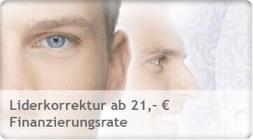 Lidkorrektur, Liderstraffung, Unterliderkorrektur, Oberliderkorrektur günstig in Tschechien